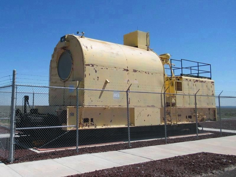 Lead-Shielded Diesel Locomotive from the Aircraft Nuclear Propulsion Project image. Click for full size.
