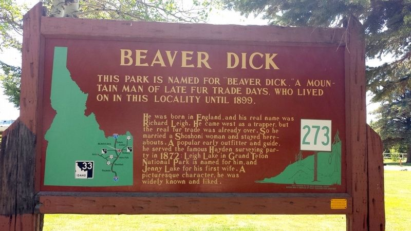 Beaver Dick Marker image. Click for full size.