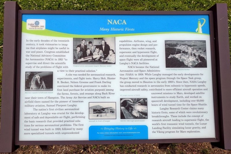 NACA Marker image. Click for full size.