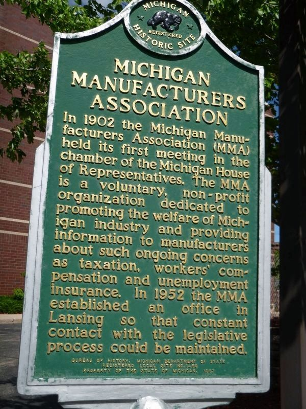 Michigan Manufacturer's Association image. Click for full size.