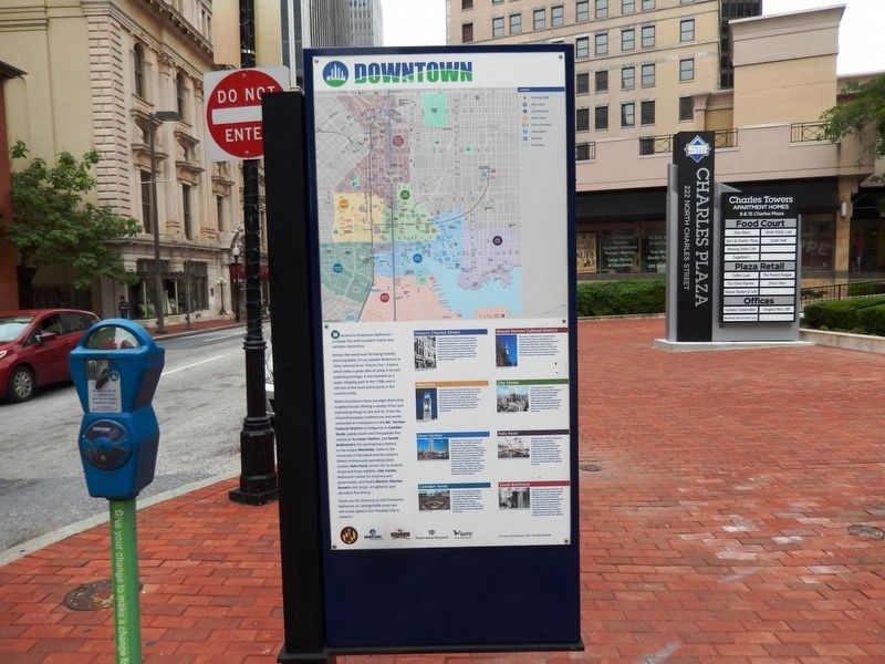 Downtown Marker-Front side image. Click for full size.