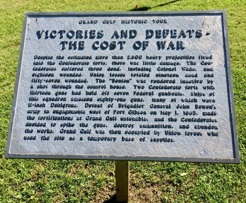 Victories and Defeats - The Cost of War Marker image. Click for full size.