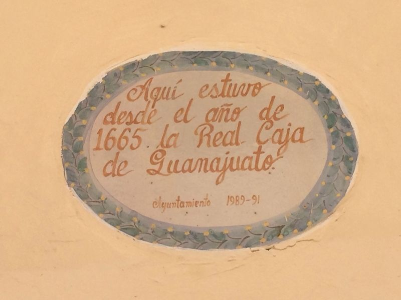 The Royal Bank of Guanajuato Marker image. Click for full size.