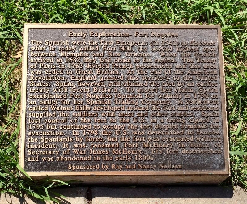 Early Exploration - Fort Nogales Marker image. Click for full size.