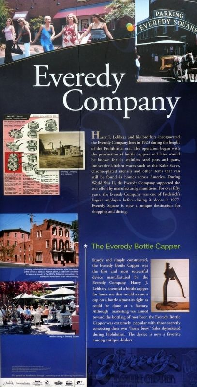 The Everedy Company Marker image. Click for full size.