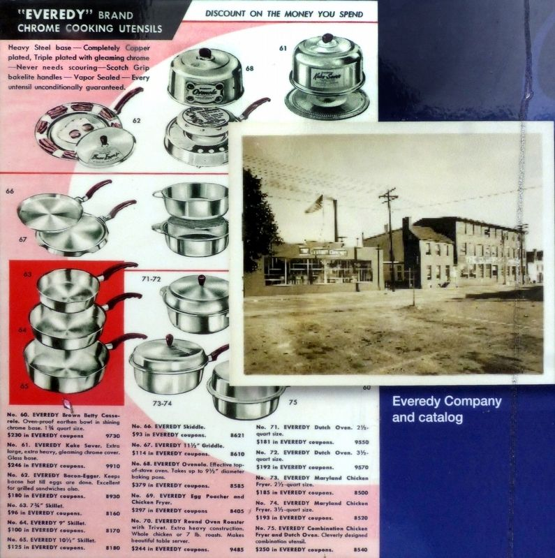 The Everedy Company and Catalog image. Click for full size.
