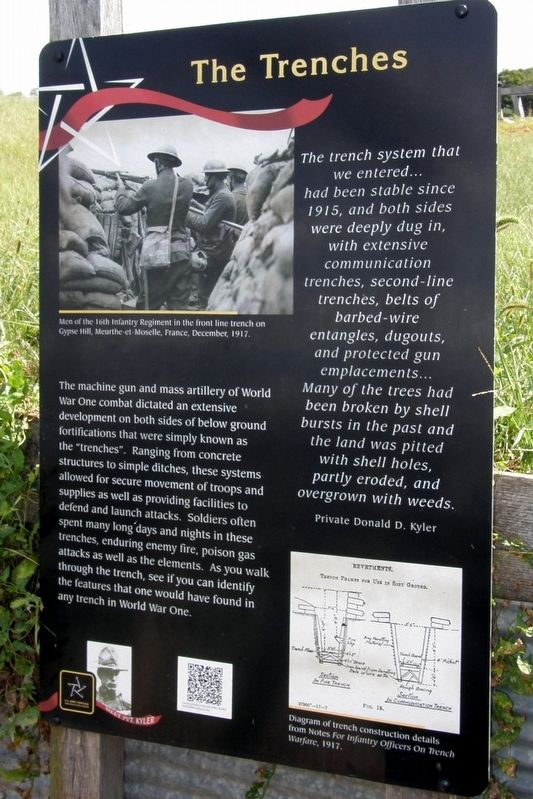 The Trenches Marker image. Click for full size.