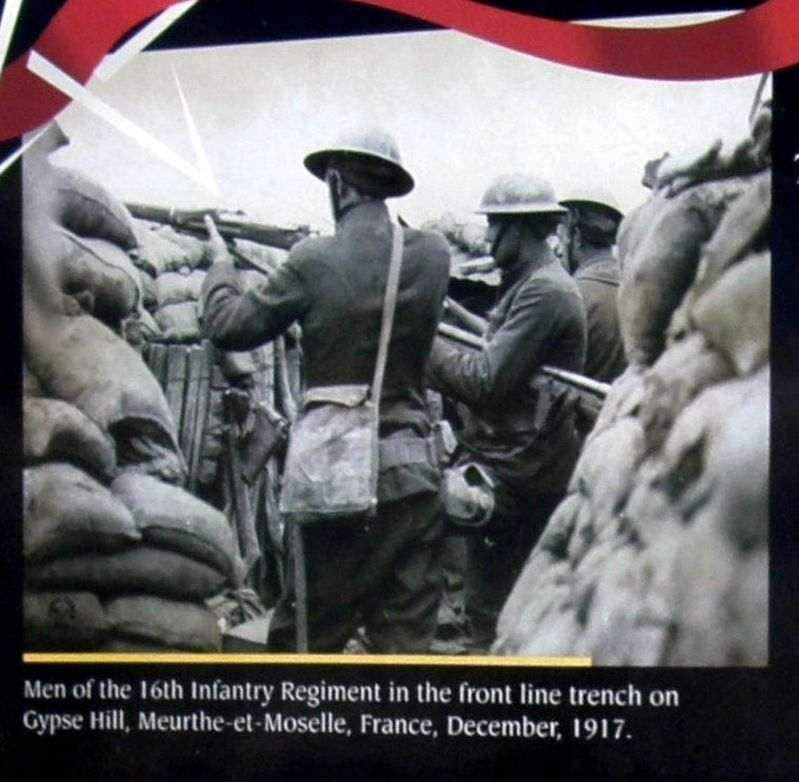 Insert - Infantry in a trench image. Click for full size.