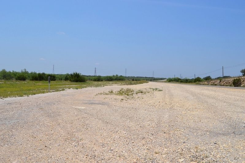 View to South Along US 277 image. Click for full size.