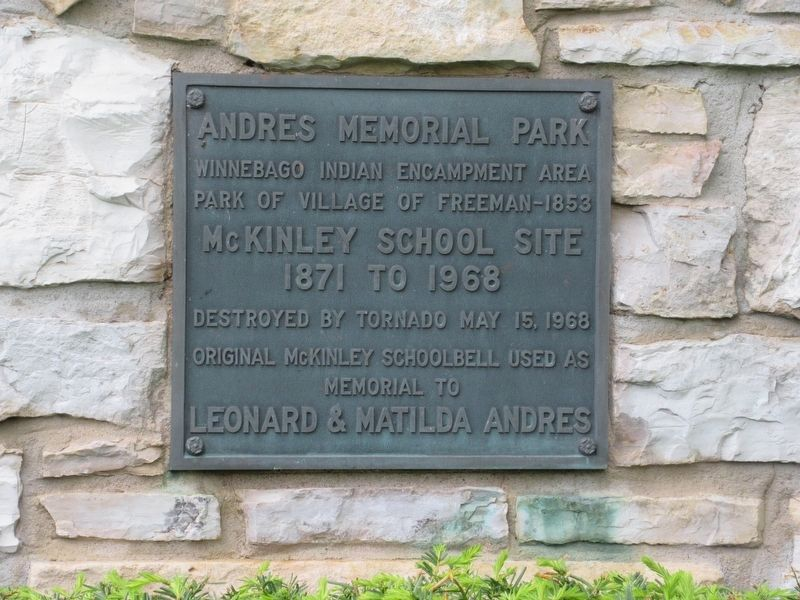 Andres Memorial Park Marker image. Click for full size.