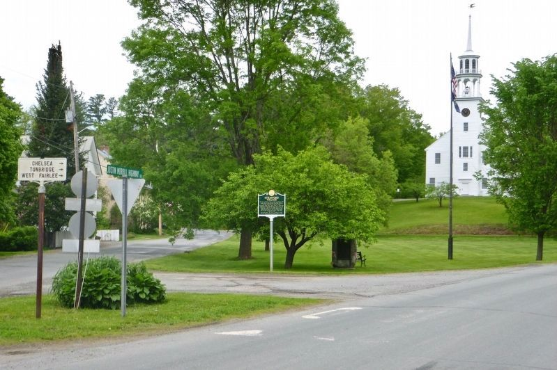 Wide view of Strafford Village marker image. Click for full size.