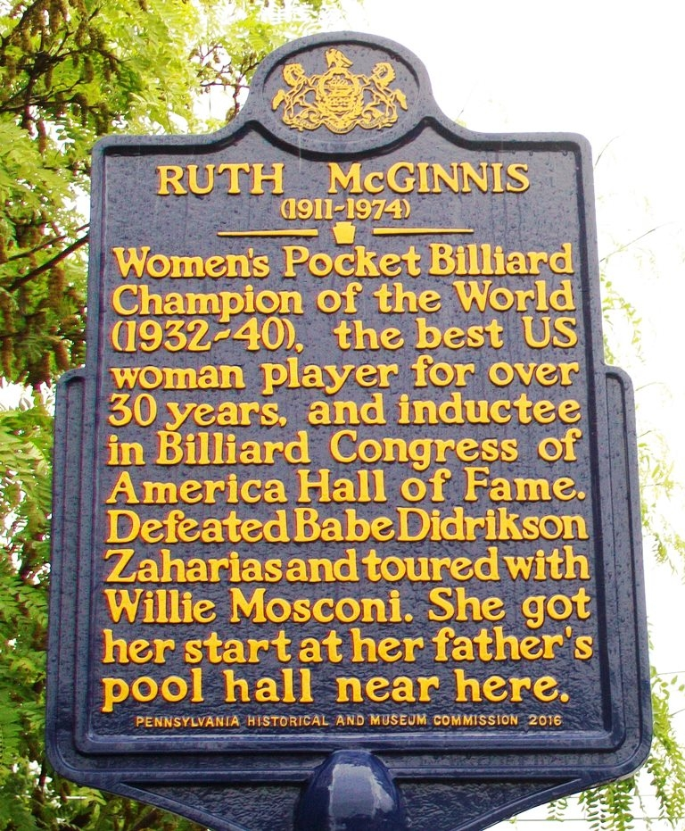 Ruth McGinnis Marker