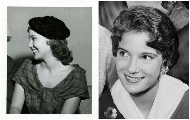 Mary Ann Mobley (left) / Lynda Lee Mead (right) image. Click for full size.