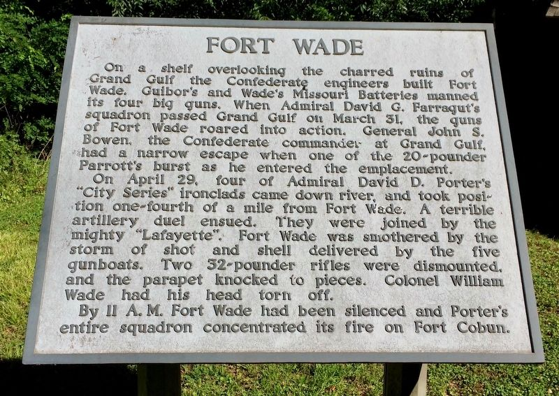 Fort Wade Marker image. Click for full size.