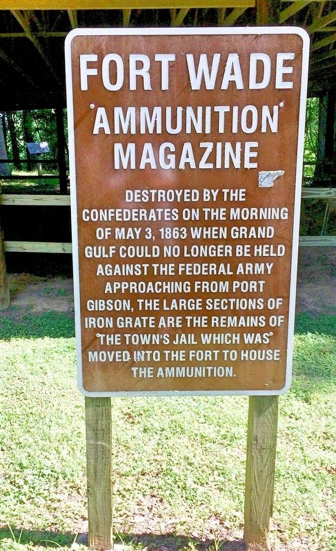 Fort Wade Ammunition Magazine Marker image. Click for full size.