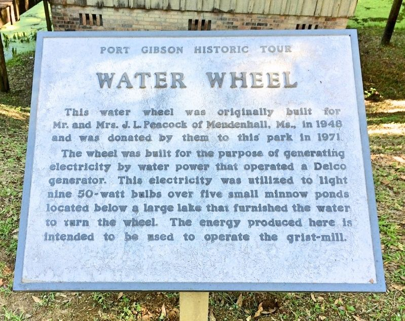 Water Wheel Marker image. Click for full size.