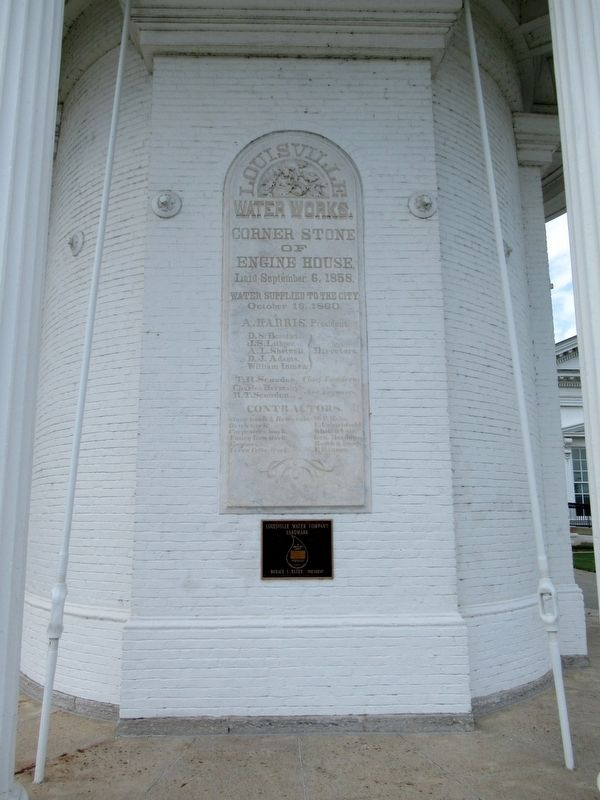 Louisville Water Works Marker image. Click for full size.