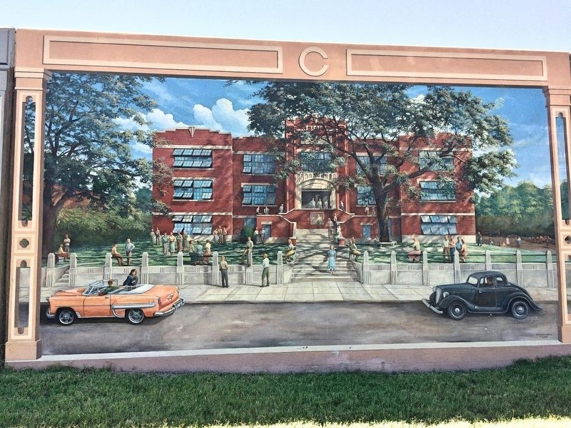 Carr School Mural image. Click for full size.