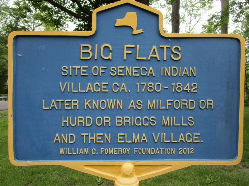 Big Flats Marker image. Click for full size.
