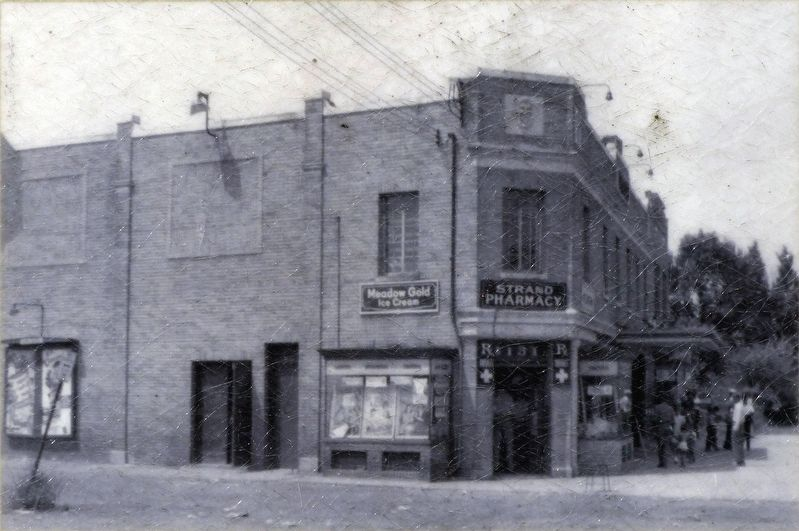 The Strand Pharmacy image. Click for full size.