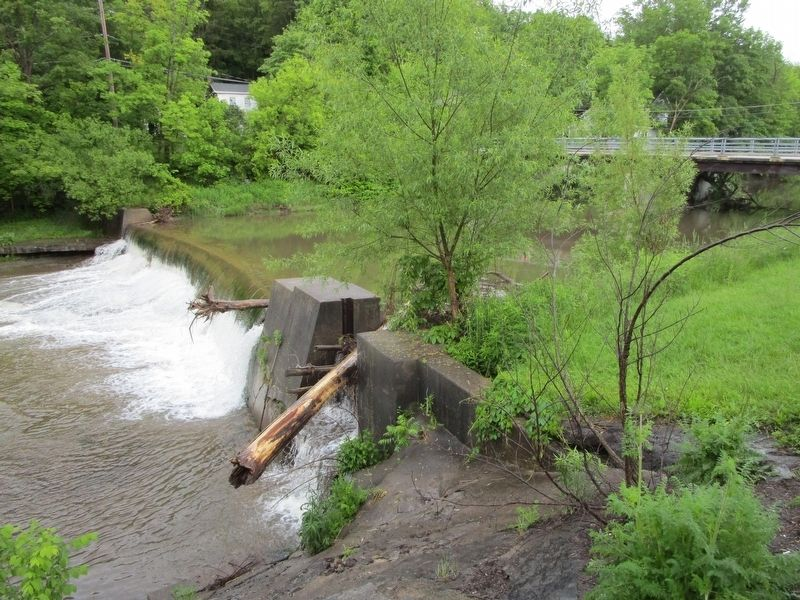 Cazenovia Creek at this Aurora Marker image. Click for full size.