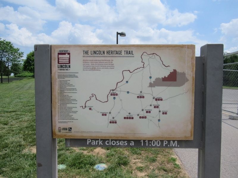 The Lincoln Heritage Trail image. Click for full size.