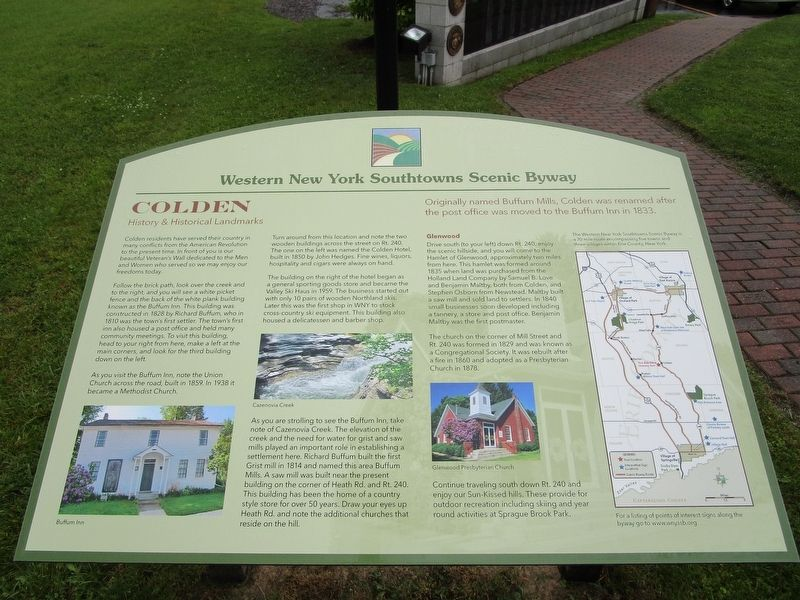 Colden Marker image. Click for full size.