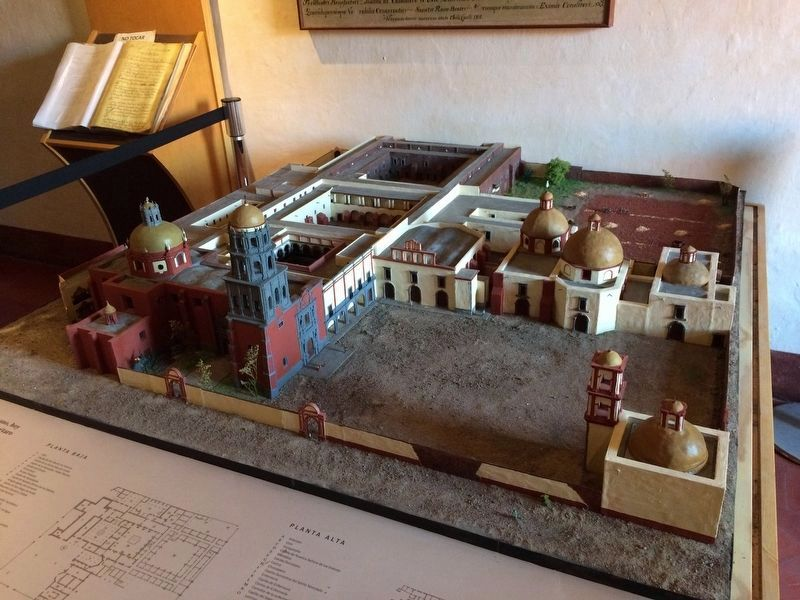 A model of the Great Convent of San Francisco image. Click for full size.