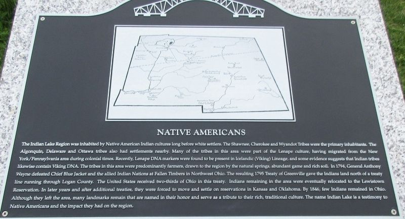 Native Americans Marker image. Click for full size.