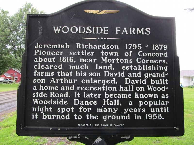 Woodside Farms Marker image. Click for full size.