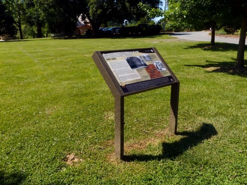 Quakers Practicing their Faith in Montgomery County Marker image. Click for full size.