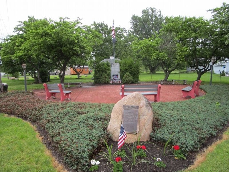 Town of Brant Veterans Memorial image. Click for full size.