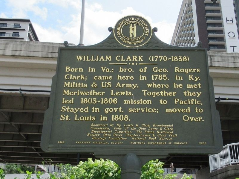 William Clark (1770-1838) Marker image. Click for full size.