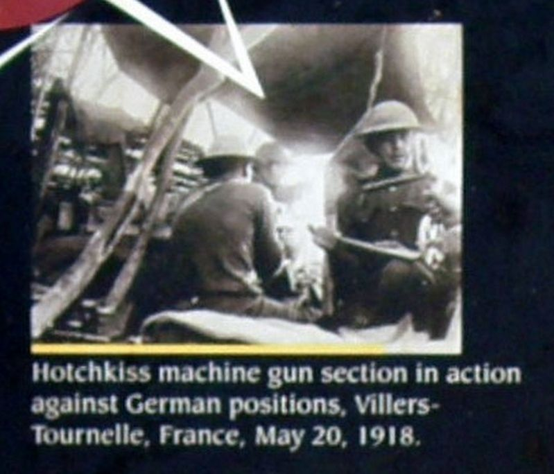 Insert - Hotchkiss gun in use image. Click for full size.