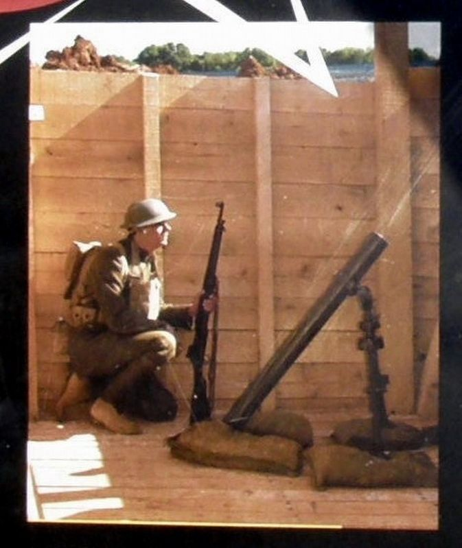 "Insert - a ""Doughboy"" and a mortar image. Click for full size."