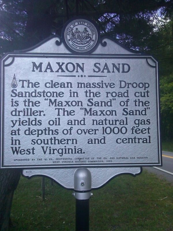 Maxon Sand Marker image. Click for full size.