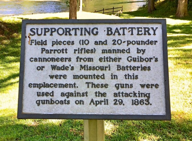 Supporting Battery Marker image. Click for full size.