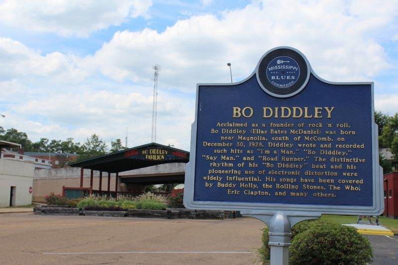 Bo Diddley Marker image. Click for full size.