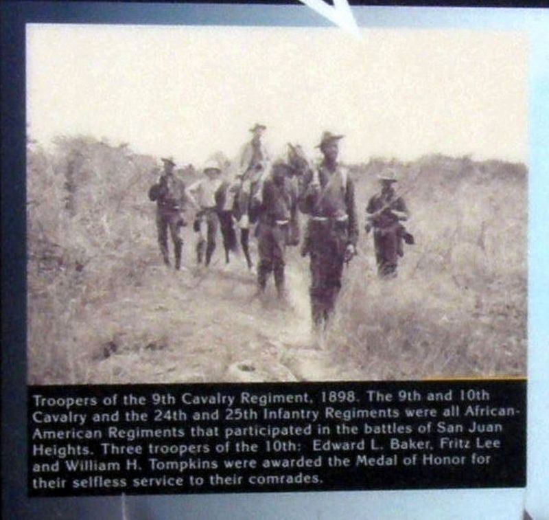 Insert - 9th Cavalry troopers image. Click for full size.