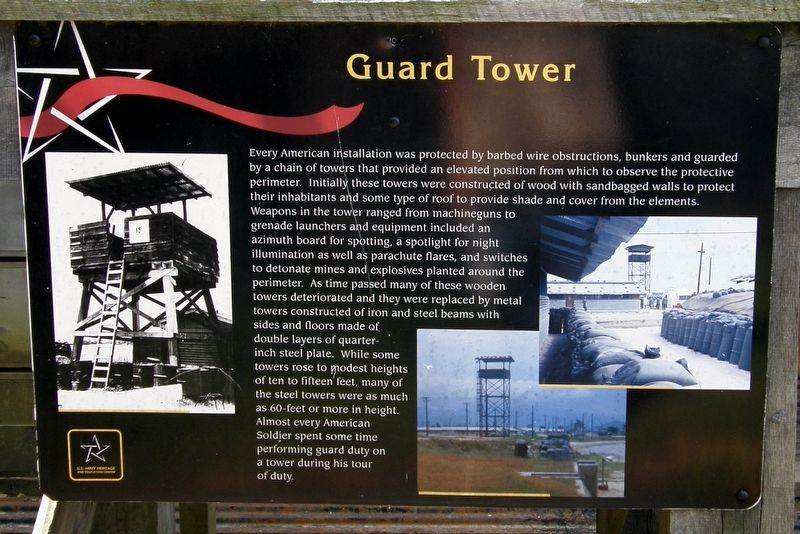 Guard Tower Marker image. Click for full size.