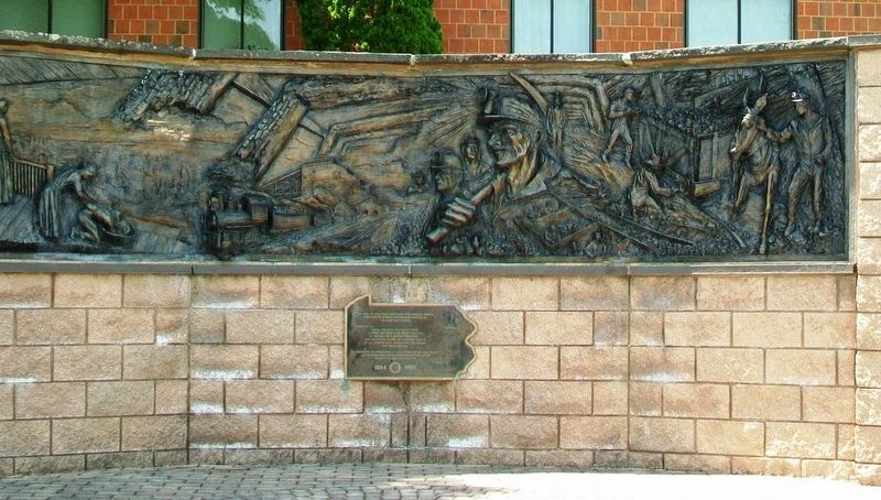 Pennsylvania Anthracite Coal Miners Memorial image, Touch for more information
