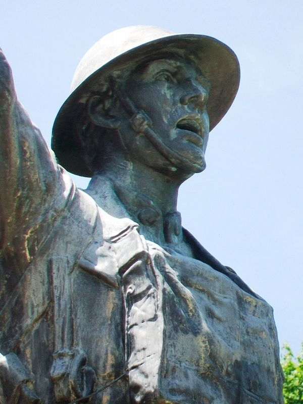War Memorial Doughboy Statue image. Click for full size.