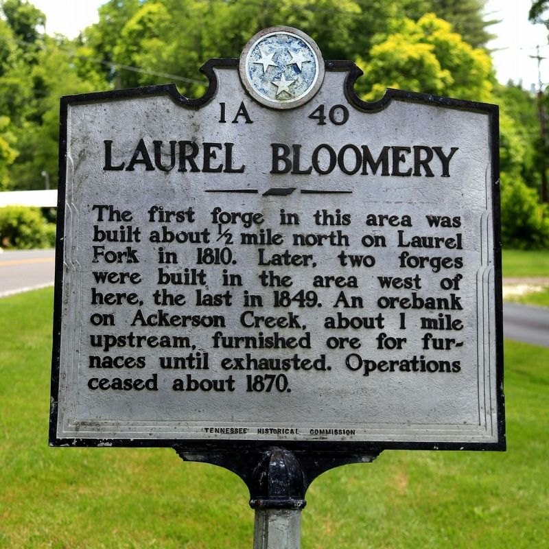 Laurel Bloomery Marker image. Click for full size.