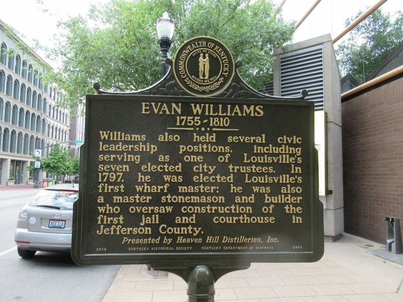Evan Williams Marker image. Click for full size.
