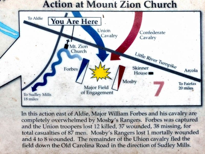 Action at Mount Zion Church image. Click for full size.