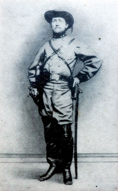 Confederate Colonel John S. Mosby image. Click for full size.