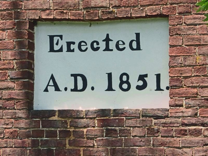 Erected A.D. 1851. image. Click for full size.