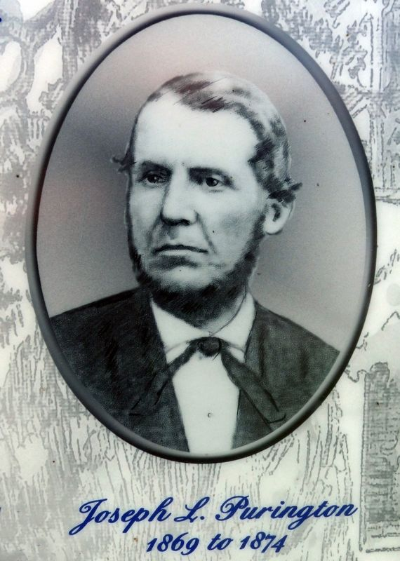 Joseph L. Purington<br>1869 to 1874 image. Click for full size.