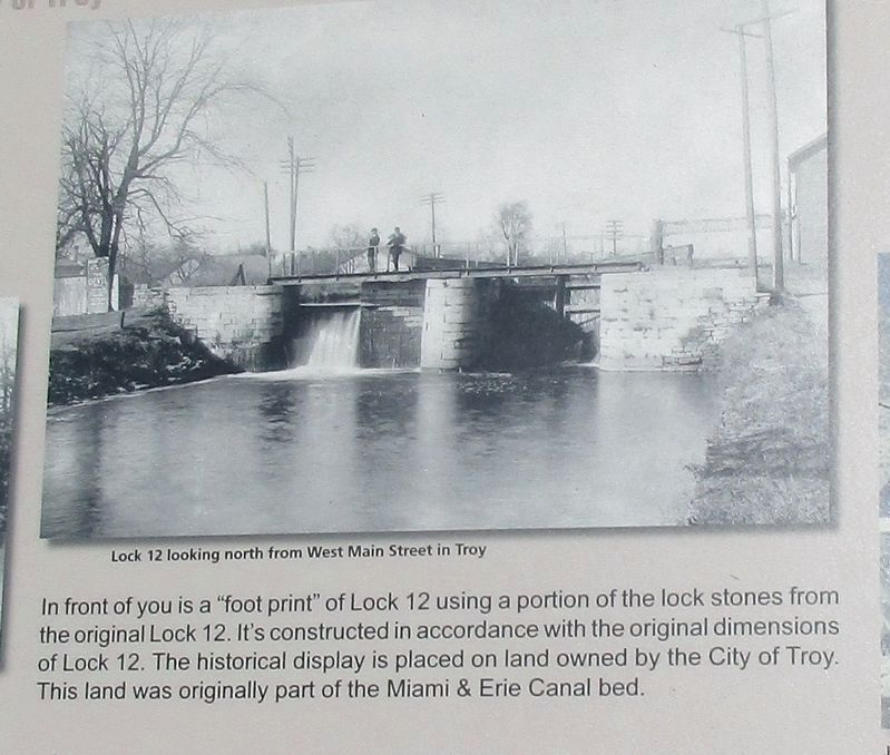 Historic Lock 12 Marker image. Click for full size.