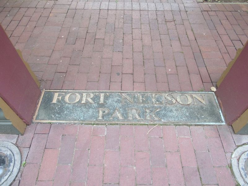 Fort Nelson Park Marker image. Click for full size.